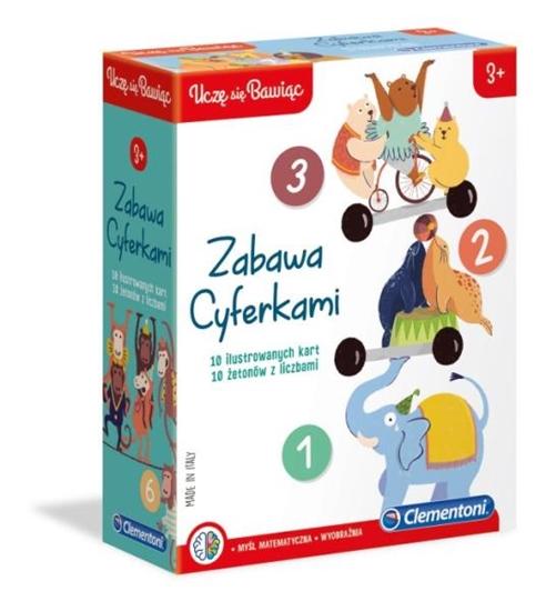 Clementoni Zabawa cyferkami (GXP-684187)