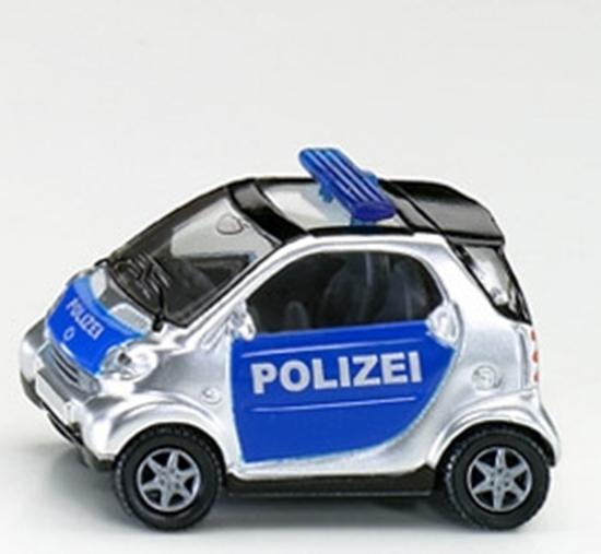 SIKU 1302 SMART  FORTWO - POLICJA (GXP-504903)