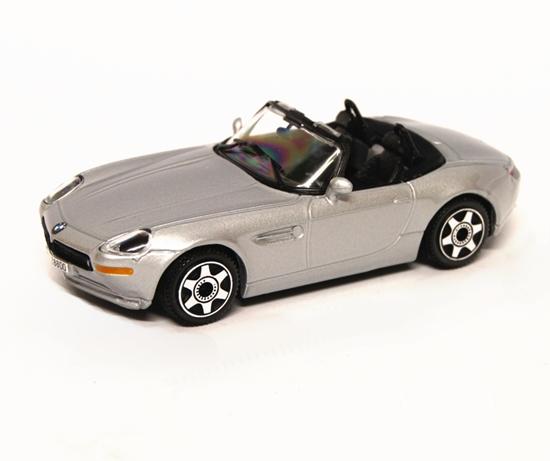 Bburago 30071 BMW Z8 1:43 - srebrny