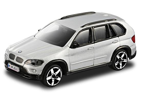 Bburago 30145 BMW X5 1:43 - srebrny