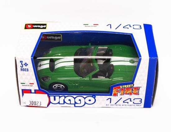 Bburago 30023 Shelby Series One 1:43 - zielony
