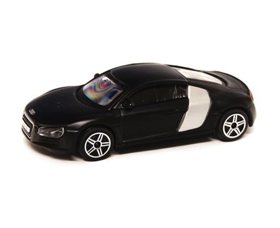 Bburago 30158 Audi R8 1:43 - czarny