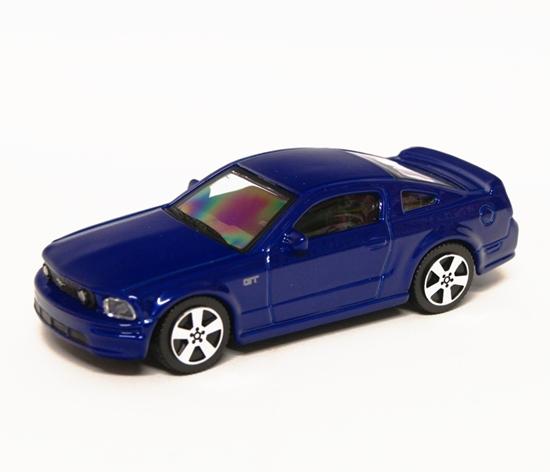 Bburago 30119 Ford Mustang GT 1:43 - granatowy