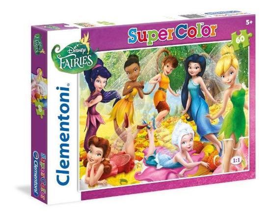 Clementoni puzzle 60 Fairires (26921 CLEMENTONI)
