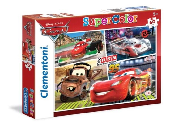 Clementoni puzzle 60 Cars (26953 CLEMENTONI)