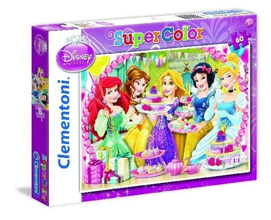 Clementoni puzzle 60 Księżniczki Disney (26911 CLEMENTONI)