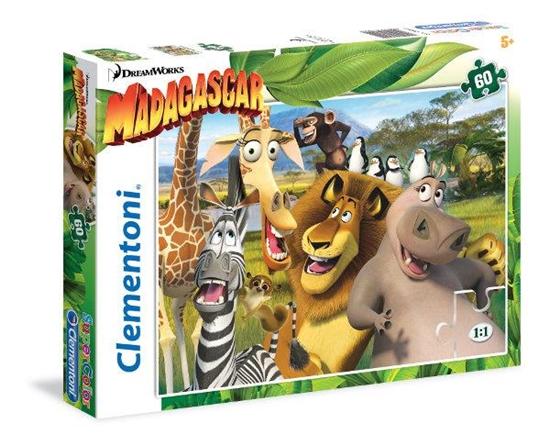 Clementoni puzzle 60 Madagaskar (26944 CLEMENTONI)