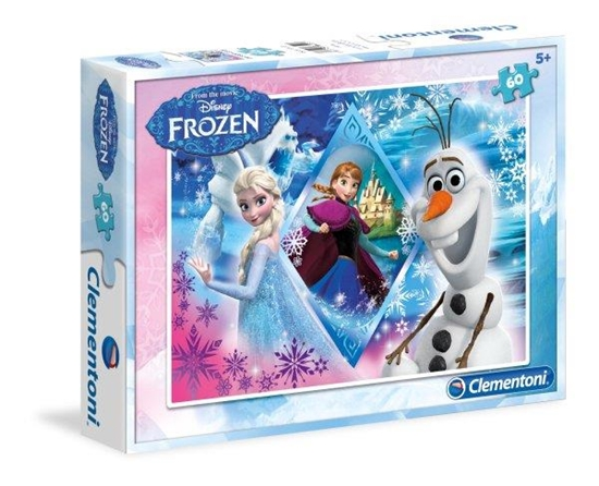 Clementoni puzzle 60el Frozen 1   08412 (08412 CLEMENTONI)