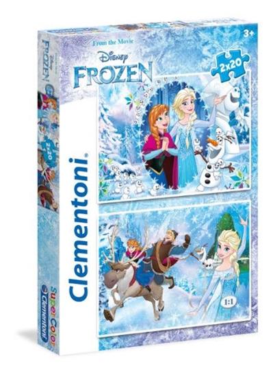 Clementoni Puzzle 2x20el Frozen 24745 (24745 CLEMENTONI)