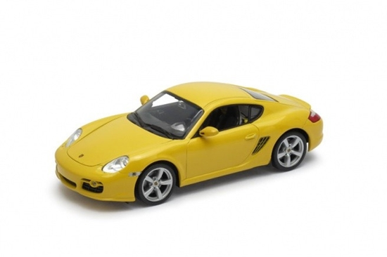 Model kolekcjonerski Porsche Cayman S, żółty (GXP-719886)