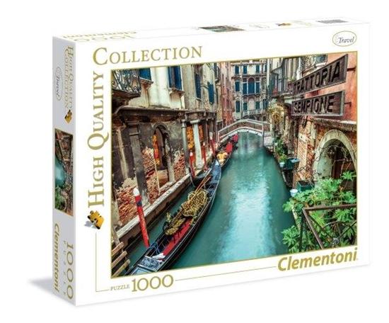 Clementoni Puzzle 1000el HQ Venice canal 39328 (39328 CLEMENTONI)