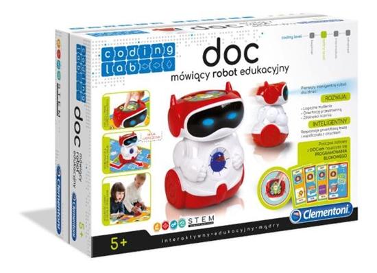Clementoni DOC Mówiący robot edukacyjny 60972  p6, cena za 1szt. (60972 CLEMENTONI)