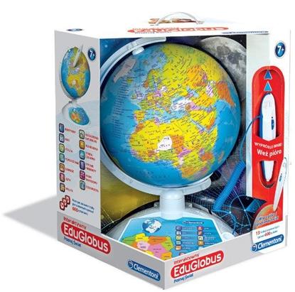 Clementoni Interaktywny EduGlobus Poznaj Świat 60903 (60903 CLEMENTONI)
