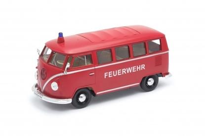 Model kolekcjonerski 1963 Volkswagen T1 czerwony (GXP-720118)
