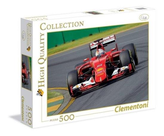 Clementoni Puzzle 500el HQ Bright red heart 35017 (35017 CLEMENTONI)