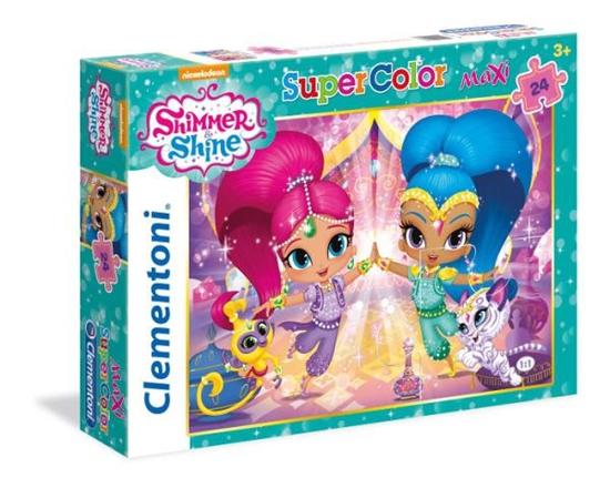 Clementoni Puzzle 24el Maxi Shimmer i Shine 24486 (24486 CLEMENTONI)
