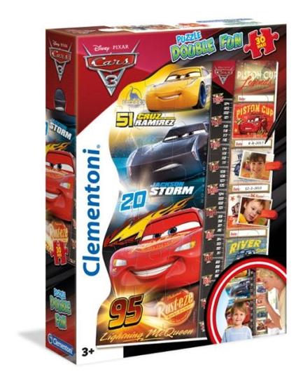 Clementoni Puzzle 30el miarka Cars 3 20319 (20319 CLEMENTONI)