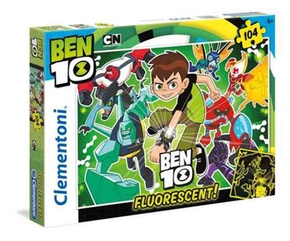 Clementoni 104el Ben 10 fluorescencyjne 27089 (27089 CLEMENTONI)
