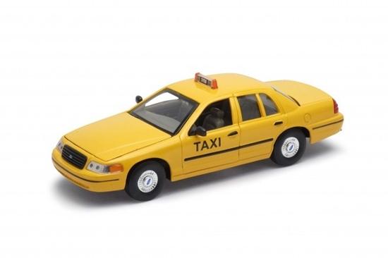Model kolekcjonerski 1999 Ford Crown Victoria Taxi (GXP-719532)