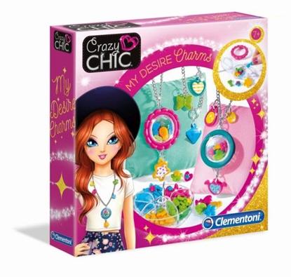 Clementoni Crazy chic Osobiste medaliony 50643 p6, cena za 1szt. (50643 CLEMENTONI)