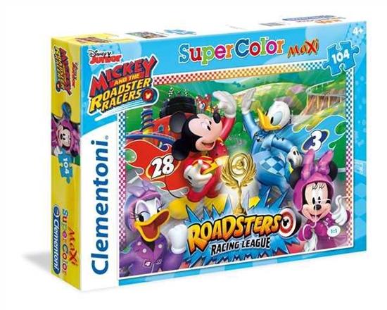 Clementoni Puzzle 104 Maxi Disney Mickey 23715 (23715 CLEMENTONI)