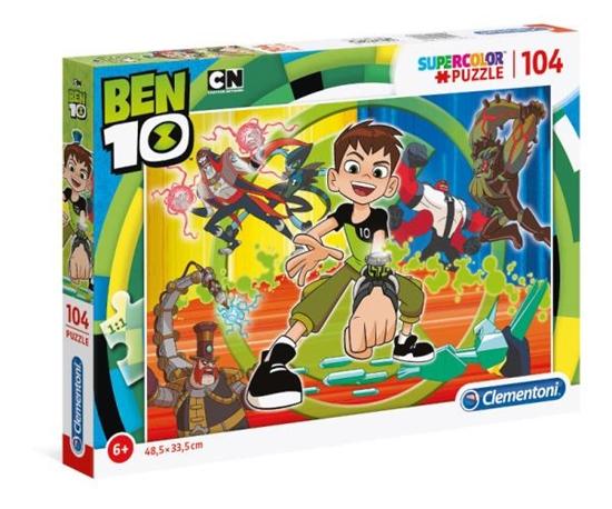 Puzzle 104 Ben 10 (27082 CLEMENTONI)