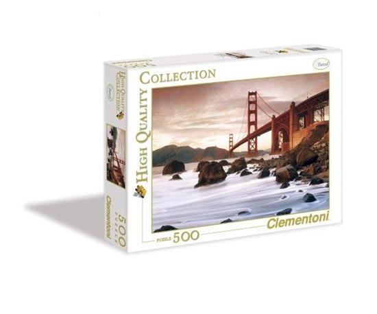 Clementoni Puzzle 500el San Francisco 30105 (30105 CLEMENTONI)