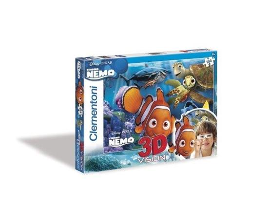 Clementoni Puzzle 104el 3D Nemo 20070 (20070 CLEMENTONI)