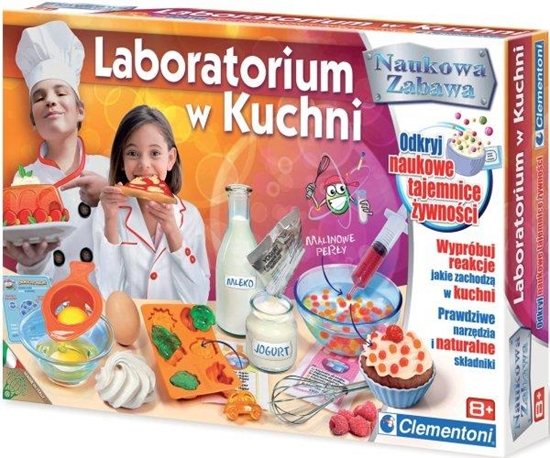Clementoni Laboratorium w kuchni 60717 (60717 CLEMENTONI)
