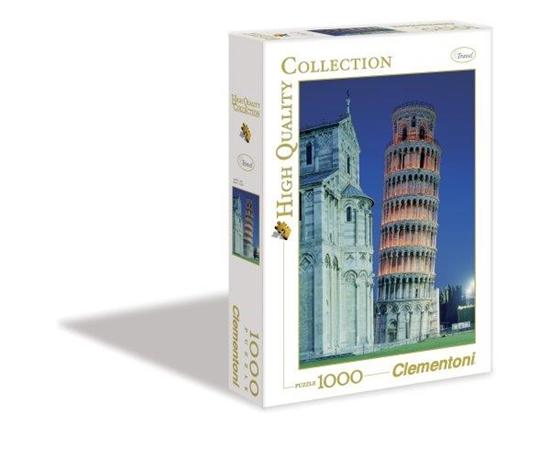 Clementoni Puzzle 1000el Pisa 31485 (31485 CLEMENTONI)