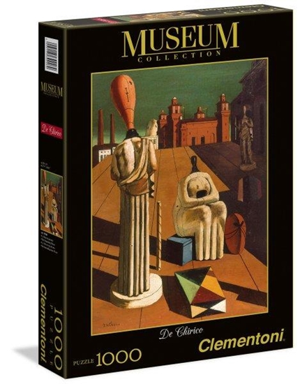 Clementoni Puzzle 1000el Giorgio de Chirico Niepokojące Muzy (39246)
