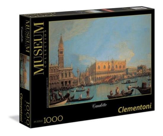 Clementoni Puzzle 1000el Museum Canaletto - Palazzo Ducale 39346 (39346 CLEMENTONI)