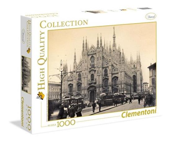Clementoni Puzzle 1000el HQ Milano 39292 (39292 CLEMENTONI)