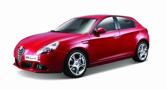 Alfa Romeo Giulietta 1:24 czerwony BBURAGO (GXP-567808)