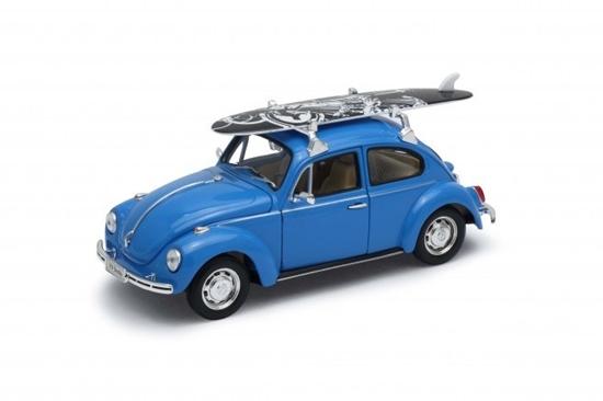 Model kolekcjonerski Volkswagen Beetle niebieski (GXP-719535)