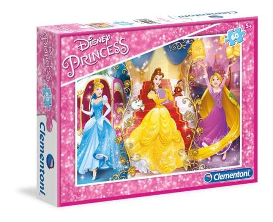 Clementoni Puzzle 60el Księżniczki 08430 (08430 CLEMENTONI)
