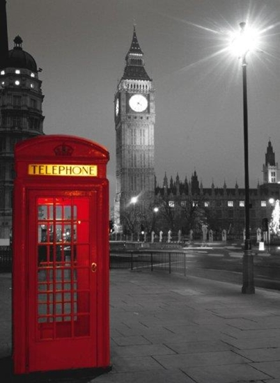 Clementoni Puzzle 500el London Phone box 30263 (30263 CLEMENTONI)