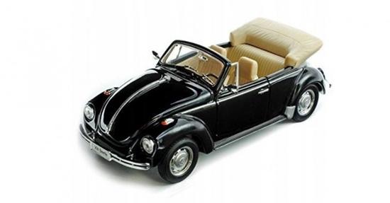 Model kolekcjonerski Volkswagen Beetle Convertible czarny (GXP-719533)