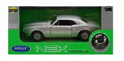 Model kolekcjonerski 1967 Pontiac Firebird, srebrny (GXP-719891)