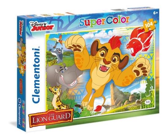 Clementoni Puzzle 104el Lion Guard, let's go! 27986 (27986 CLEMENTONI)