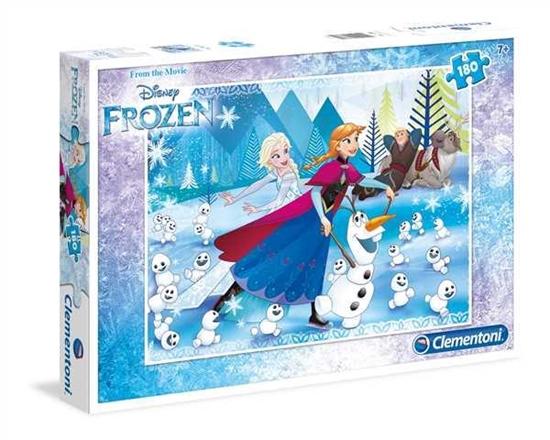Clementoni Puzzle 180el Frozen 07338 (07338 CLEMENTONI)
