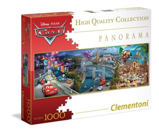 Clementoni Puzzle 1000 el Panorama  Cars 39348 (39348 CLEMENTONI)