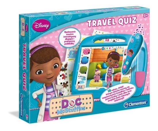 Clementoni Travel Quiz Klinika dla pluszaków 60235 (60235 CLEMENTONI)