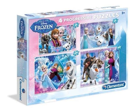 Clementoni Puzzle 20+60+100+180el Frozen 07709 (07709 CLEMENTONI)