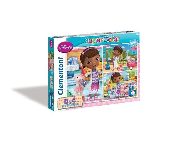 Clementoni Puzzle 3x48el Doc McStuffins 25188 (25188 CLEMENTONI)