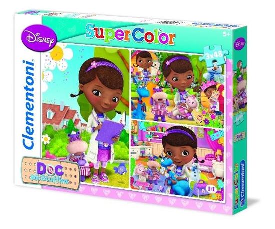 Clementoni Puzzle 3x48el Doc McStuffins 25193 (25193 CLEMENTONI)