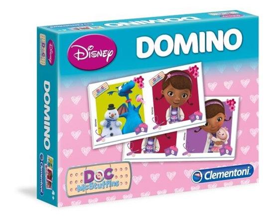 Clementoni Domino Klinika dla pluszaków 13454 (13454 CLEMENTONI)