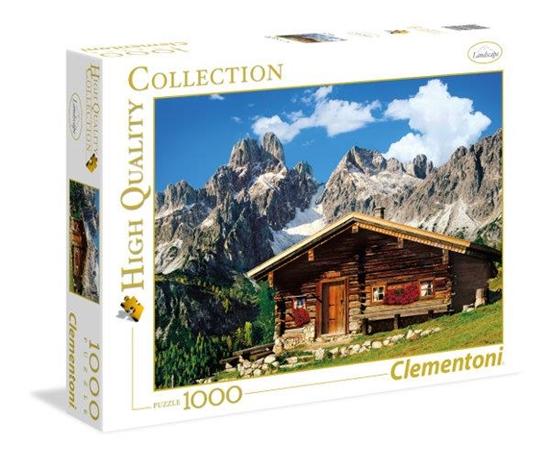 Clementoni Puzzle 1000el HQ Austria: The Mountain House 39297 (39297 CLEMENTONI)