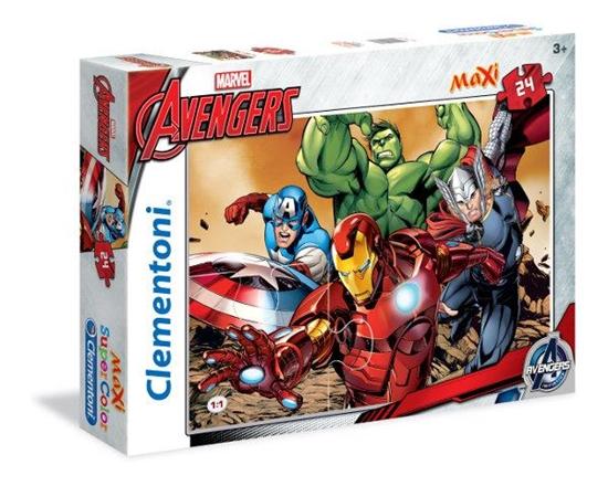 Clementoni Puzzle 24el Maxi The Avangers 24037 (24037 CLEMENTONI)