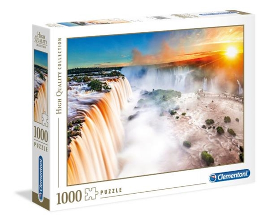 Clementoni Puzzle 1000el Wodospad 39385 (39385 CLEMENTONI)